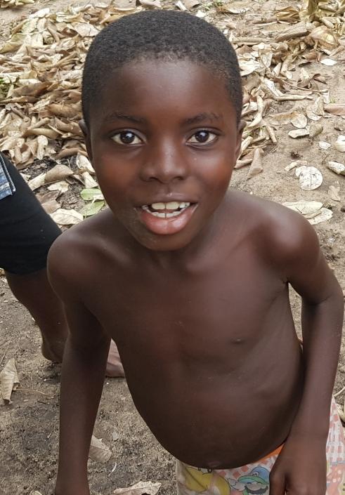 Michael Kodjwo, Age. 7, Class 2
