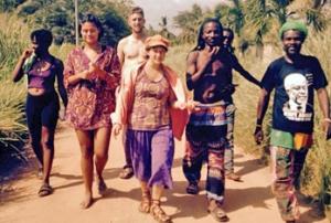 Anad e.V. Volontaere aus Kalifornien in Ghana 2018